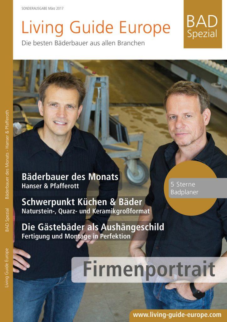 Baederbauer des Monats Hanser Pfafferoth Titelseite 905x1280