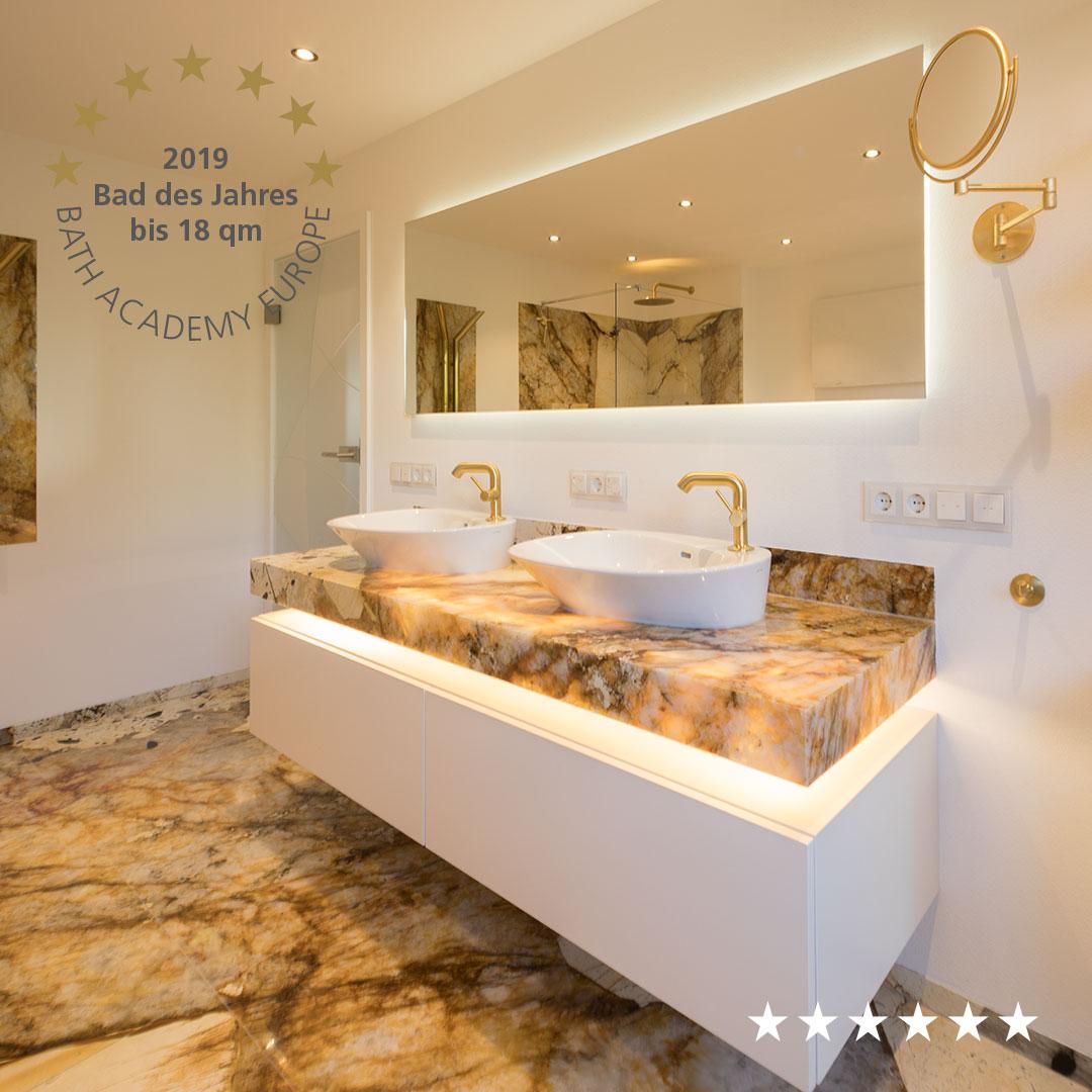 Badezimmer aus Naturstein Patagonia – Living Guide Europe ...