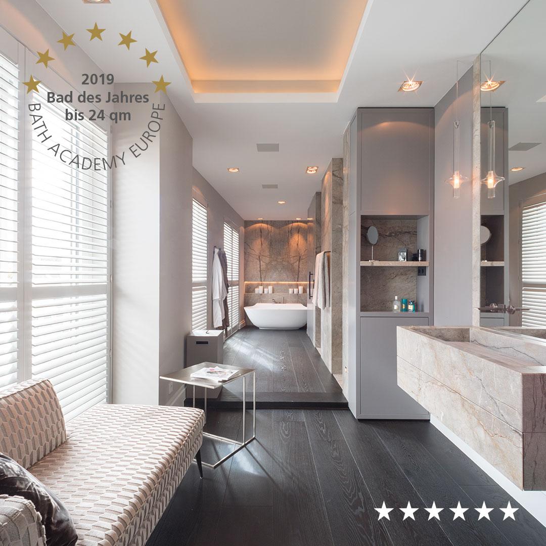 Badezimmer aus Naturstein Silver Roots – Living Guide Europe ...