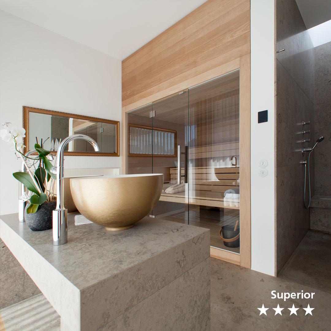 Badezimmer aus Naturstein Jura – Living Guide Europe – Das ...