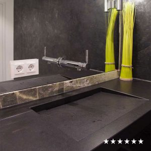 drossel zentgraf gaeste wc naturstein irish green nero assoluto square