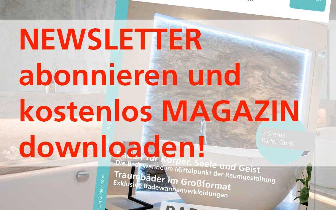 Newsletter abonnieren und kostenlos Magazin downloaden 1080
